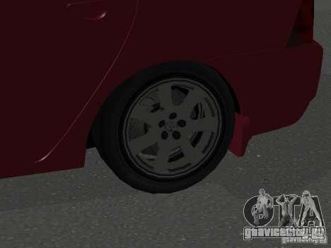 Toyota Corolla Sedan для GTA San Andreas вид сзади