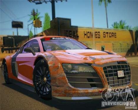 GTA IV Scratches Style для GTA San Andreas