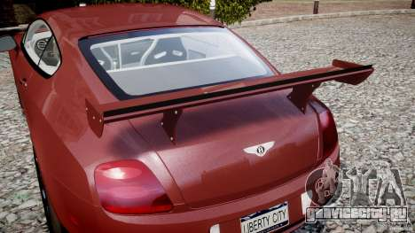 Bentley Continental SS v2.1 для GTA 4 салон