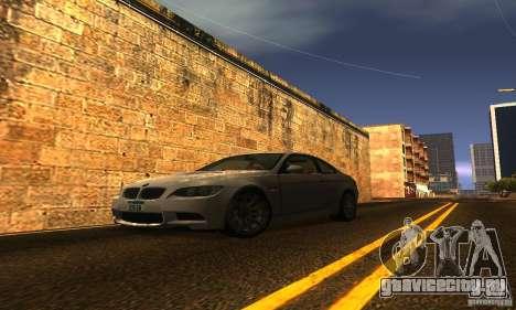 BMW M3 E92 для GTA San Andreas двигатель