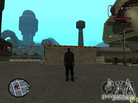 CJ невидимка для GTA San Andreas второй скриншот