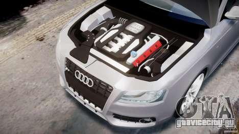 Audi S5 v1.0 для GTA 4 вид сзади