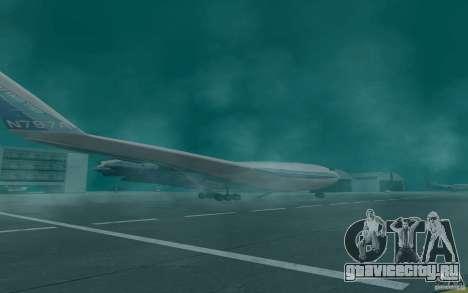 Boeing 797 BWB для GTA San Andreas вид слева