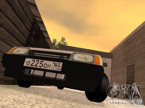 ВАЗ 2108 Такси для GTA San Andreas вид справа