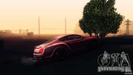 Bentley Continental GT Premier4509 2008 Final для GTA San Andreas двигатель