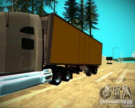 Прицеп Krone Biedra для GTA San Andreas вид справа