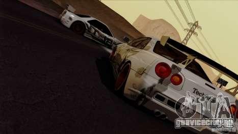 SA Beautiful Realistic Graphics 1.4 для GTA San Andreas пятый скриншот