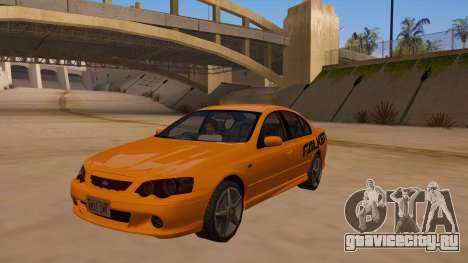 Ford Falcon XR8 2008 Tunable V1.0 для GTA San Andreas