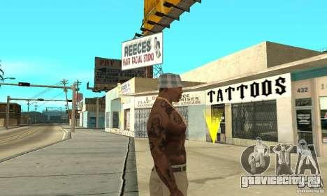 Tattoo mod для GTA San Andreas третий скриншот