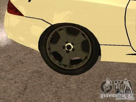 Jaguar XK для GTA San Andreas вид изнутри