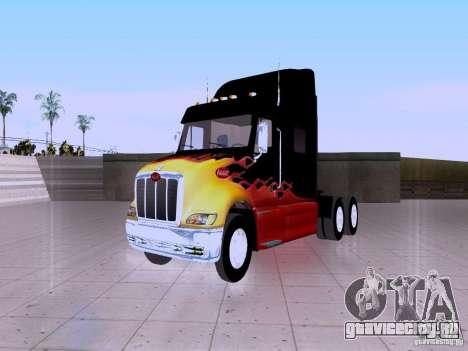 Peterbilt 387 для GTA San Andreas вид сзади