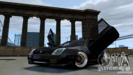Honda Prelude SiR VERTICAL Lambo Door Kit Carbon v1.0 для GTA 4