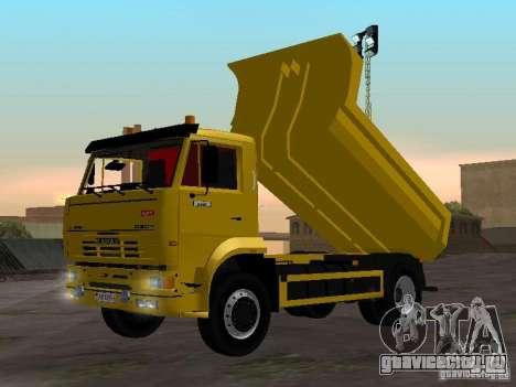 КамАЗ 53605 TAI version 1.1 для GTA San Andreas