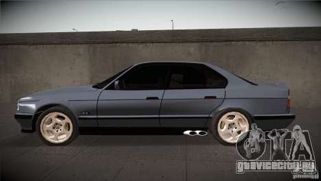 BMW M5 E34 1990 для GTA San Andreas вид слева
