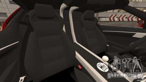 Lamborghini Miura 2006 для GTA 4 вид изнутри