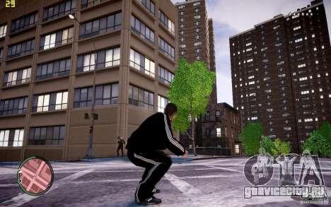 Костюм Adidas для GTA 4 пятый скриншот