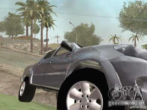 Toyota Hilux для GTA San Andreas вид изнутри