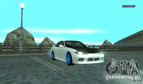 Nissan Silvia S15 Stance для GTA San Andreas вид слева