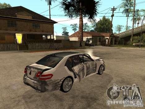 Mercedes-Bens e63 AMG для GTA San Andreas вид сбоку