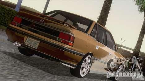 Subaru Legacy RS для GTA San Andreas вид сзади