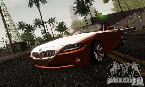BMW Z4 для GTA San Andreas вид сверху