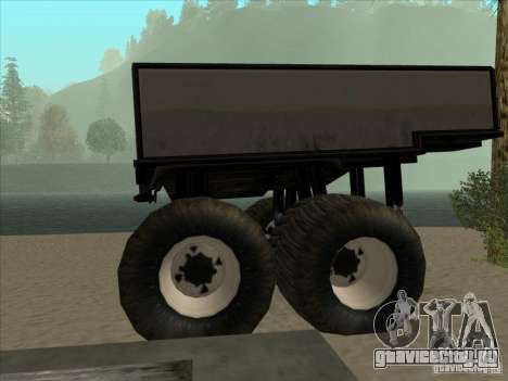 Прицеп к Monsterous Truck для GTA San Andreas вид слева