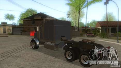 Phantom из GTA IV для GTA San Andreas вид сзади слева