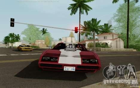 Phoenix HD для GTA San Andreas вид сзади слева