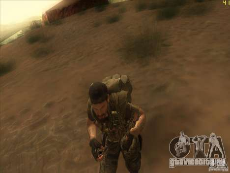 Frank Woods для GTA San Andreas четвёртый скриншот