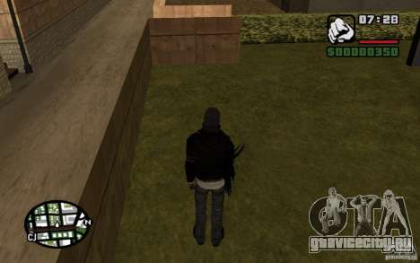 Alex Mercer для GTA San Andreas пятый скриншот