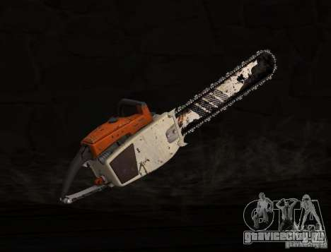 Бензопила для GTA San Andreas второй скриншот