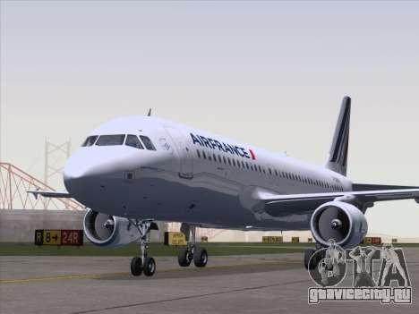Airbus A320-211 Air France для GTA San Andreas