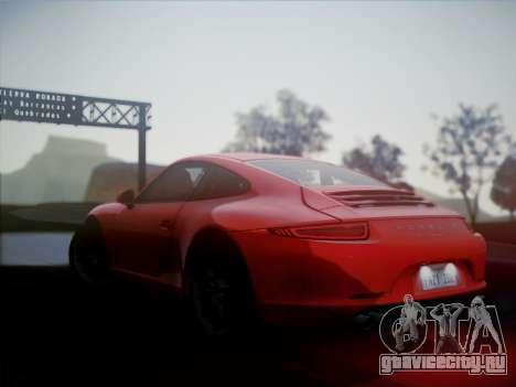 Porsche 911 (991) Carrera S для GTA San Andreas вид слева
