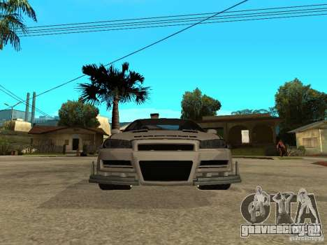 Nissan Skyline R 34 Need For Speed Carbon для GTA San Andreas вид слева