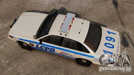 Новый Noose Cruiser ELS для GTA 4 вид справа