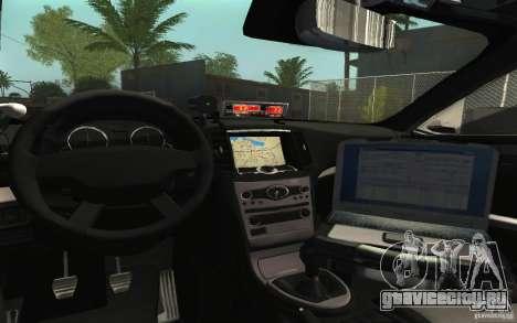 Ford Taurus 2011 LAPD Police для GTA San Andreas вид сбоку