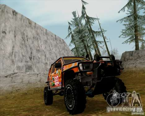 Nissan Navara Off-Road для GTA San Andreas вид слева