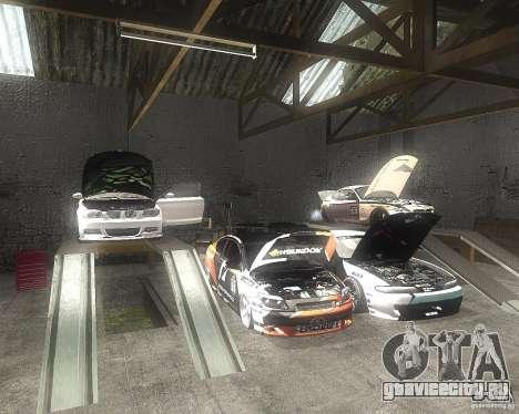 BMW 135i Hella Drift для GTA San Andreas вид изнутри