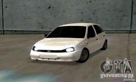 Lada Kalina Hatchback Stock для GTA San Andreas