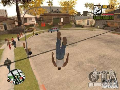 FLY men - CJ будет круче супермена для GTA San Andreas четвёртый скриншот