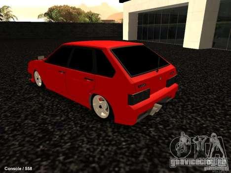 ВАЗ 2109 Turbo для GTA San Andreas вид слева