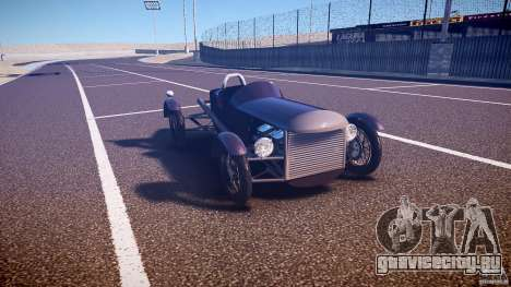 Vintage race car для GTA 4 вид сзади
