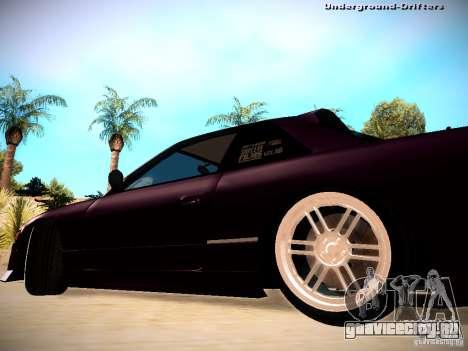 Nissan Silvia S13 Tandem Of DIE для GTA San Andreas вид сзади слева