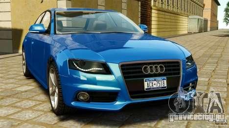 Audi A4 2010 для GTA 4