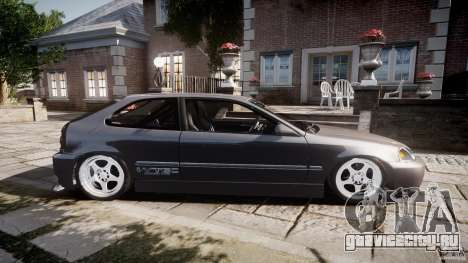 Honda Civic EK9 Tuning для GTA 4 вид слева