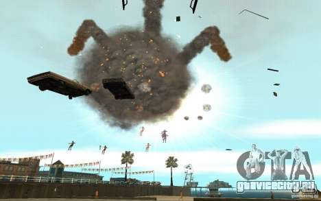 Чёрная дыра для GTA San Andreas третий скриншот