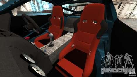 Mazda RX-7 RE-Amemiya v2 для GTA 4 вид изнутри