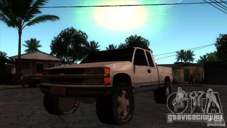 Chevrolet Silverado 1996 для GTA San Andreas