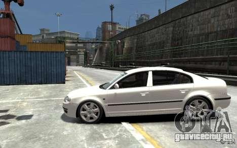 Skoda SuperB для GTA 4 вид слева