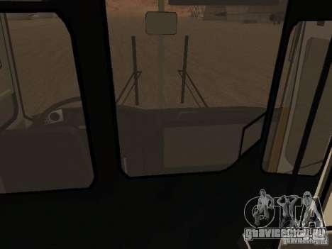 Икарус 280.46 для GTA San Andreas вид изнутри